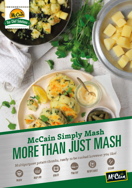 McCain Simply Mash Brochure