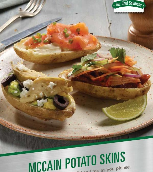 McCain Potato Skins Brochure