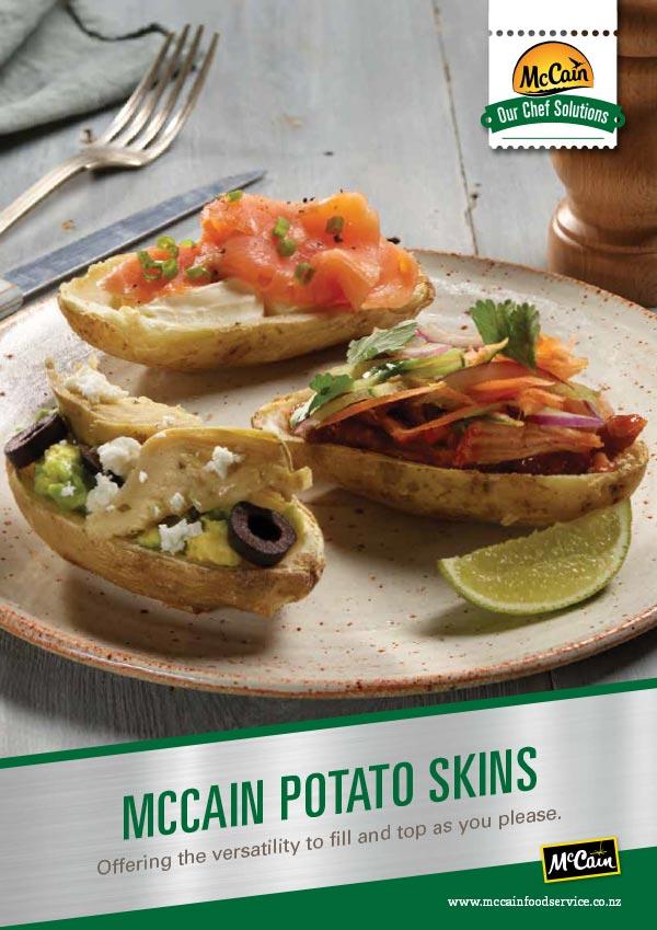 McCain Potato Skins Brochure