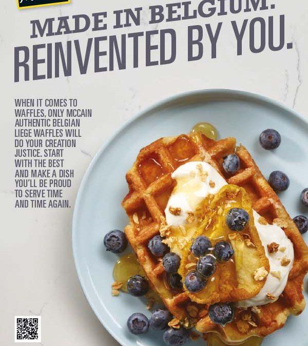 McCain Belgian Liege Waffles Brochure