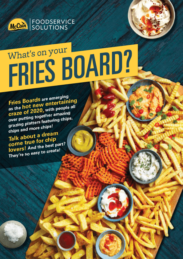 Fries Board Flyer